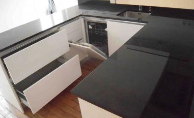 Rénovation totale d'une cuisine à Enghien-les-Bains