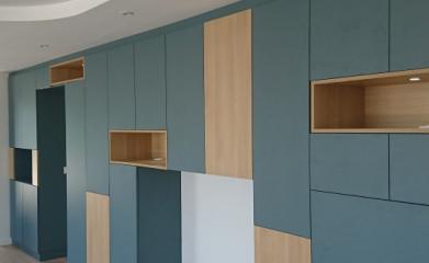 Création d'un meuble de salon sur-mesure image 4