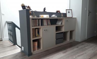 Création d'une bibliothèque séparation de pièce sur-mesure image 2