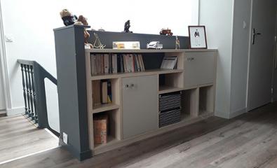 Création d'une bibliothèque séparation de pièce sur-mesure