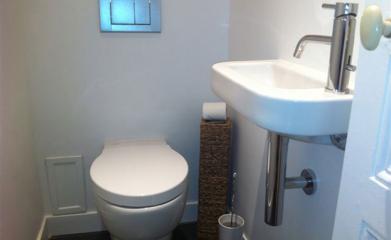 Rénovation d'un WC à Montmorency image 2