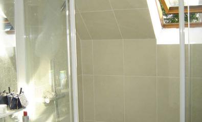 Transformation d'une salle de bains en salle de douche à Montmorency